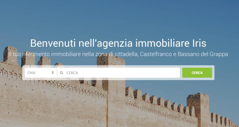 Realizzazione siti internet a Cittadella: Iris immobiliare